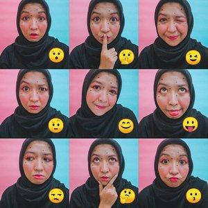 Emoticon Selfie 🤓😒🙄😛😒🙄🤨.#makeup #lightroom #clozetteid #beauty #makeup #beautybloggers #bbloggers #makeuplover #beautyjunkie #iheartmakeup #atomblogger #beautybloggerid #beautiesquad #beautybloggerindonesia #kbbvmember  #byrusydinat