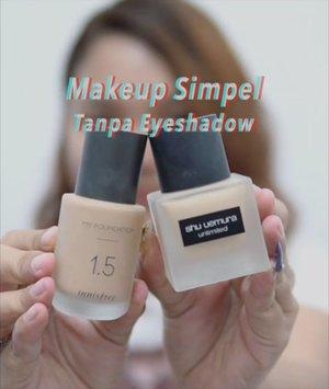 Besok udah Malem minggu nih.. siapa tau ada yg butuh inspirasi makeup tapi bosen pake eyeshadow.. . .  Detail's product : - @getthelookid Loreal Revitalift essence - @innisfreeindonesia my foundation N31 1,5 mix @shuuemura unlimited foundation 764 @anggarahman - @yslbeauty radiant concealer (3) - @lakmemakeup eyebrow pencil brown - @mybeautypediaid essence Hey cheeks palette - @merzy_official gel eyeliner (amber bronze) - @makeoverid eyeliner pencil nude sleek - @maybelline push up angel mascara @jaquelicious - @absolutenewyork_id Spot light (white true gold) - @getthelookid loreal rouge signature (I embrace) + @yslbeauty vinyl cream 413 - @mybeautypediaid catrice prime and fine anti shine fixing spray . . .  #lidyareview #mineralbotanica #micaxhanum #motd #makeup #lidyamakeup #beauty #indobeautysquad #beautyenthusiast #makeuptutorial #lipstick #makeupvideos #videomakeup #clozetteid #makeupoftheday #beautybloggers #beautyvlogger