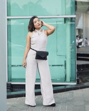 Wearing Ranesmee Jumpsuit from @thefthingworld for #JFW2019 Day-4 . . .  #ootd #ootdlidya #outfitoftheday #jakartafashionweek2019 #jakartafashionweek #fashionstyle #jumpsuit #jumpsuitstyle #fashion #Clozetteid #fashion #Clozetteidreview #TheFThing #TheFThingxClozetteIDReview