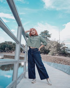 Have a wonderful day everyone 💕 .  Btw jgn lupa buat selalu menebar kasih ya 💕 📸 : @olin.dnd . . .  #ootdlidya #ootd #outfits #fashion #outfitinspiration #style #outfitoftheday #clozetteid #outfitideas #streetstyle #fashionstreet #ootdstreet #explorejakarta #jakartafashion