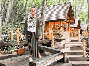 Mid-week thought: Maybe if we stay really really still and don't make a sound, weekend would come faster looking for us.  #hereshoping #stylediary #wheninjapan #ningleterrace #clozetteid #ootd #lookbooklookbook #lookbookindonesia #indonesianblogger