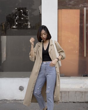 how life in casual would look like 💯 ——— jeans @odiva.id
