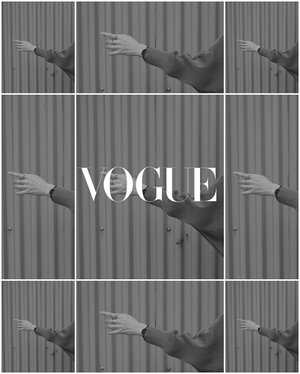 #voguechallenge —— let's join the hype ✨