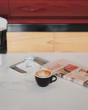 enjoy my coffee in @woodpeckerjkt ☕️