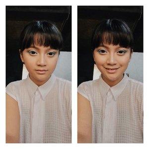 waktu aku masih abege 😂.....behind the scene @nivea_id makeup lookbook photoshoot .#makeup #makeupenthusiast #beauty #beautyenthusiast #beautyblogger #beautyinfluencer #influencer #indobeautygram #beautybloggerindonesia #indobeautysquad #clozette #clozetteambassador #clozetteid #lifestyle #behindthescenes #bloggerperempuan