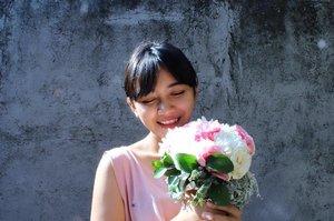🌷🌷🌷🌷🌷🌷 . . . . . . 11/06/14 - 11/06/17 #clozetteid  #clozette  #flower  #flowerbouquet  #floral #pink  #peach  #bloom #beauty #rose