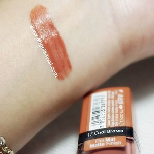 Hai... Yang suka pakai lipstick matte warna nude bisa cek blogku yukkk Aku baru saja menulis review tentang BOURJOIS Rouge Edition Velvet no 17 Cool Brown.  Cek before afternya juga ya ^^ http://www.angelkawai.com/2016/03/bourjois-velvet-17-cool-brown-review.html  #review #bourjoisrougevelvet #bourjoiscoolbrown #coolbrown #swatch #matte #lips #lipstick #lipcream #creamy #velvet #rougeedition #bourjois #bourjoisvelvet #application #blogger #beautyblogger #lip #coolbrown #brown #nude #cool #natural #beauty #beautyblogger #indonesianbeautyblogger #clozetteid #starclozetter