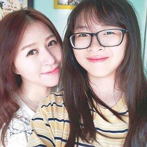 #sister #family #cute #love #lovelyfamily #shorttrip #holiday #longweekend #homesick #hometown #blogger #beautyblogger #indonesianbeautyblogger #clozetteid #starclozetter #beauty #girl #girls