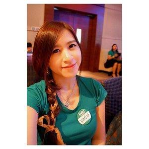 Thank you @queenno kepangannya. So Lovely 😍😍 #selca #selfie #asian #chinese #chinesegirl #girl #beauty #beautyblogger #indonesianbeautyblogger #makeup #ulzzang #clozettedaily #clozetteid #clozette #fotd #potd #ootd #beautiesid #blogger #selcas #braided #braidedhair #natur #event #alamilebihbaik