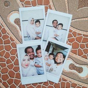 Selamat hari raya Idul Fitri 🙏.......#familypotrait #eidmubarak #gstbaby #Clozetteid #loveofmylife