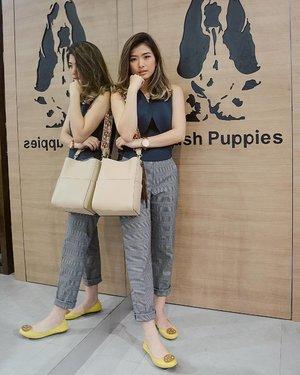 From yesterday's great time at the Store Reopening of @hushpuppiesid Tunjungan Plaza 6 Surabaya, shoes and bags are from @hushpuppiesid 🐶🐶 #hushpuppiesid #grandopeningTP6 #tunjunganplaza6 #clozetteid #Lykeambassador
