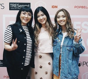 Sandwiches by this 2 humble girls that I adore and been following them everywhere in their socmed , a wishlist checked by meeting them in real life 🙈🙈 all thanks to @beautyfestasia 🛫🛬 #beautyfestasia2017 #clozetteid #idntimes #