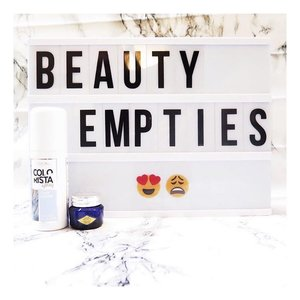 Beauty Empties & Review is up on the blog! Find out how i feel about the products in my blog 💕 { link in bio }