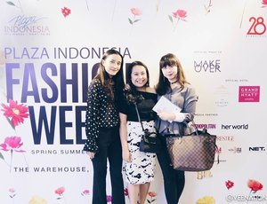 Beautiful moments are supposed to be shared 💖 Plaza Indonesia Fashion Week is my absolute highlight last month ! Comment and share below if you had a great moment last month 💕