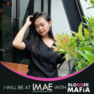 .Calling all beauty junkie! See you at IMAE 5 - 7 Oktober 2018, Balai Kartini Jakarta.IMAE itu pameran tahunan tempatnya para beauty junkie kumpul hihihihi. Ada makeup competition, cosplay, stand2 makeup yg kasih diskon macem2 ada juga the paling hits blogger genk @bloggermafia hihihihi dan papi Joon yang akan ngehost vlog competition.So excited. See you there.#clozette #clozetteid #clozettedaily #bloggerhood #bloggermafia #imae2018