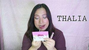Hei! Akhirnya aku up di Youtube ku lip swatches @lookecosmetics  all shade !Kuy mampir ke Youtube aku : Regina Napitupulu..Klik link di bio 💙.https://youtu.be/fWl94BdW0ko.#lookecosmetics #holylipseries #clozetteid #reginapitcom