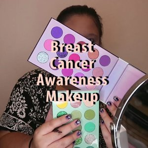 Breast Cancer Awarness Makeup 💗#BSPinkChallenge #bsagaintsbreastcancer.🌈 @bellaoggiitaliaofficial Foundation🌈 @viva.cosmetics Concealer🌈 @altheakorea concealer🌈 @fanbocosmetics Powder🌈 @beautyglazed eyeshadow palette🌈 @madame.gie eyeshadow palette🌈 @essence_cosmetics Hey cheeks🌈 @f2f.cosmetics lip liner🌈 @nyxcosmetics_indonesia pressed glitter🌈 @innisfreeindonesia lip glow🌈 @mizzucosmetics eyeliner🌈 @esqacosmetics lip cream..... .#reginapittutorial#reginapitcom #bvlogger #bvloggerid #indobeauautygram#Clozetteid #bloggermafia #sbybeautyblogger  #beautiesquad  #indovidgram #indovlogger #batak #bataknese #beautybloggerindonesia