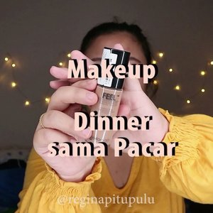 MAKEUP DINNER SAMA PACAR 🤭.🌈 @bellaoggiitaliaofficial @cnfstoreofficial Feel Perfect Foundation🌈 @getthelookid Loreal True Match Concealer🌈 @fanbocosmetics powder🌈 @beautycreations.cosmetics esmeralda palette🌈 @elfcosmetics contour palette🌈 @madame.gie cheek blush, eyebrow pencil🌈 @getthelookid Loreal Color Rich Matte ..#reginapittutorial#reginapitcom #bvlogger #bvloggerid #indobeautygram #Clozetteid  #indonesiababe  #sbybeautyblogger  #beautiesquad #IVGBeauty #indovidgram #indovlogger #setterspace #kbbvfeatured #beautybloggerindonesia