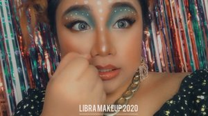 Habis ubek - ubek galeri hp, lah kok nemu video agak - agak kelar makeup. Sampai lupa ini makeup apa an karena, ga ada fotonya. Tau - tau ini Libra Makeup 2020 yang aku bikin 😅 Ya udah, aku post ini aja lah ya 👻 .  . 🌈 @madame.gie Bb Foundation 🌈 @altheakorea Concealer 🌈 @maybelline The Nudes Eyeshadow 🌈 @beautyglazed Eyeshadow Palette 🌈 @iheartrevolution Chocolate Eyeshadow Palette 🌈 @bellaoggiitaliaofficial Eyeliner 🌈 @absolutenewyork_id Strobing and Shading Palette / Lipcream  🌈 @otwoo_id Heart Highlighter  🌈 Cmaduu eyeliner 🌈 @indonesia_etudehouse Eyeliner 🌈 @getthelookid lipstick 🌈 @innisfreeindonesia Lip Glow  🌈 @fanbocosmetics Powder  .  . . . . . #reginapittutorial #reginapitcom  #bvlogger #bvloggerid #indobeauautygram #Clozetteid #bloggermafia #sbybeautyblogger  #beautiesquad  #indovidgram #indovlogger #batak #bataknese #beautybloggerindonesia