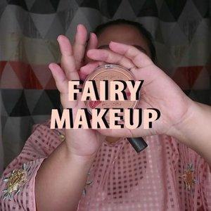 Fairy Makeup 🧚🏻.Sayap - sayapnya agak nganu yaa.. Yaudahlah ya 😂Itu aja pas filming sempet hapus, bikin lagi 😅..🌈 @maybelline Fit me foundation🌈 @altheakorea concealer🌈 @latulipecosmetiques_ Contour🌈 @lookecosmetics Powder🌈 Catrice Bronzer🌈 @madame.gie Blush, Eyeshadow🌈 @makeoverid Highlghter🌈 @getthelookid lipstick........... .#reginapittutorial#reginapitcom #bvlogger #bvloggerid #indobeauautygram#Clozetteid #bloggermafia #sbybeautyblogger  #beautiesquad  #indovidgram #indovlogger #batak #bataknese #beautybloggerindonesia  #pinterestmakeup #fairymakeup