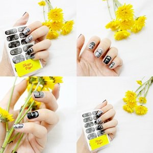 There's a fun and easy way to express your feeling 💅Nail sticker by @shoppa.poppa 😻 Order yours and make your nails pretty 😋😋#clozetteID