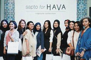 @clozetteid squad supporting #SaptoForHava 💖 . #ClozetteID #HavaIndonesia #ClozetteIDxHava