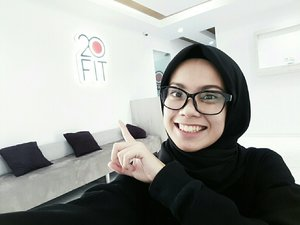 10 minutes before I start my free trial of this famous EMS at 20FIT Tebet 🙌 #ClozetteIDx20FITreview