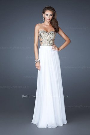 This strapless gown Features a modified sweetheart neckline, adorned with fabulous sequins and stones on the bodice.Center back zipper closure and fully beaded straps completes this look. Accessorize this Grecian style Gown with Gold Bangles and a Vintage Gold Clutch. This Dress is Perfect as a Bridesmaid Dress, Wedding Guest Dress, Bridesmaid Dress, or a Special Occasion DressSize: Standard Size or Custom Made SizeClosure: Back ZipperDetails: A-Line Skirt,Sequin BodiceFabric: Chiffon Length: LongNeckline: Strapless SweetheartWaistline: Empire WaistColor: WhiteTag: Long, Strapless, A-Line, White, Sequin, Bridesmaid Dress