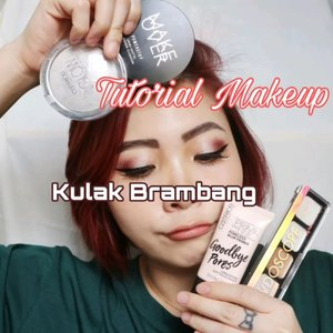 Kira- kira kalo gini entuk diskonan ga yo brambang e?? __ Maunya one brand tutorial pake @catrice.cosmetics Trs lupa ternyata ku tidak punya foundi Catrice 😂 koplak. Yaudin kompleksyong nya dilengkapi oleh @makeoverid cushion karena ini adalah yg paling suering kujamah ♥️ ___ Deets : Goodbye Pores  Blush Box Just Believe in Your self The Blazing Bronze Brow Colorist Glow Highlighter Powder Dewy Ful Lips Lip Butter Liquid Metal Cream Eyeshadow Glowdoscope Higglighter Palette The little Black One Volume Mascara ____ #wakeupandmakeup #bunnyneedsmakeup #koreanmakeup  #clozzeteid #clozetteid #undiscovered_mua #setterspace #ccchanelbeauty_id  #indobeautygram #beautygoersid #instamakeup @setterspace @tampilcantik  @cchanel_beauty_id @tips_kecantikan  @popbela_com  #makeup #makeuptutorial  #beautyenthusiast #motd #100daymakeupchallenge