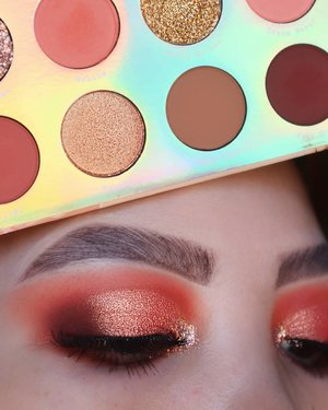 🍑🍑🍑.Eyes deets@sigmabeauty Eyeshadow Base Primer - Ignite #sigmabeauty #sigmaprimetime@colourpopcosmetics Sweet Talk #colourPopMeBrushes :#bhcosmetics & Sigma Brushes ....#clozetteid #morphebabe #sigmagical #sigmaprimetime #anastasiabeverlyhills #anastasiabrows #juviasplace #colourpopme  #bhbeauties #qupas #lovewins🌈 #hoodedeyesmakeup #coral #eyeshadowlook #trendymakeup #eyelooks #blazin_beauties #dramaticmakeup #makeupobsession #muasfeaturing #eyemakeupideas #eotd #pridemonth