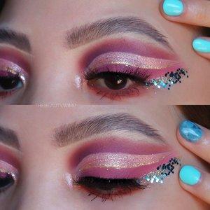 ✨✨✨💧💧💧   Eyeshadow @focallurebeautyid  Brushes @sigmabeauty  Glitter @eclatpressedglitter  Nails @ellerynail.id       #sigmasoftblend   #beautygoersid #instamakeup  #makeuptutorial  #beautyenthusiast  #100daymakeupchallenge #makeupfeed #unleashyourinnerartist #creativemakeup  #makeuptutorial @setterspace   #makeuplooks #wakeupandmakeup #clozzeteid #sigmabrush #clozetteid #slave2beauty #wake2slay  #amrezyshoutouts #tiktokindonesia #undiscovered_muas #inssta_makeup #berbagiskill #tiktokindonesia #tiktok #samasamadirumah  