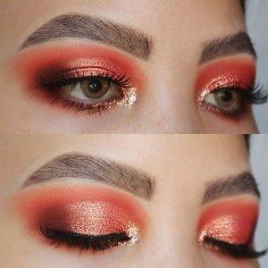 SWIPE LEFT FOR TUTORIAL🌸.GARDEN ROSE VUVUZELA INSPIRED LOOK.Eyes deets@sigmabeauty Eyeshadow Base Primer - Ignite #sigmabeauty #sigmaprimetime@colourpopcosmetics Sweet Talk #colourPopMe.Contact lenses are edited .Brushes :#bhcosmetics & Sigma Brushes ....#clozetteid #morphebabe #sigmagical #sigmaprimetime #anastasiabeverlyhills #anastasiabrows #juviasplace #colourpopme  #bhbeauties #qupas #lovewins🌈 #hoodedeyesmakeup #coral #eyeshadowlook #trendymakeup #eyelooks #blazin_beauties #dramaticmakeup #makeupobsession #muasfeaturing #eyemakeupideas #eotd #pride