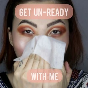 GET UN-READY WITH ME  Hapus hapus makeup  ____ Step masih sama ; pasti triple cleansing kalo habis makeup  Produk nya aja yang aku rotate / gonta ganti . @byphasse.indonesia cleansing wipes @garnierindonesia micellar Oil-Infused cleanser water @axisy_official Gel Cleanser (bisa dibeli di @beautyglowing ) . . . #beautygoersid #instamakeup  #makeuptutorial  #beautyenthusiast  #100daymakeupchallenge #makeupfeed #unleashyourinnerartist #creativemakeup  #makeuptutorial @setterspace @tampilcantik  @cchanel_beauty_id @tips_kecantikan  @popbela_com  #makeuplooks #wakeupandmakeup #clozzeteid #sigmabrush #clozetteid #slave2beauty #wake2slay #eyeshadowtutorial  #amrezyshoutouts #undiscovered_muas #inssta_makeup #makeupaddict #featuremuas #morphebabe #beautyunderyourinfluencer