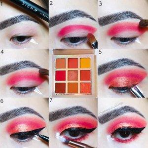 𝗧𝗨𝗧𝗢𝗥𝗜𝗔𝗟 ♥️__________Sudah ikutan GIVEAWAY nya belum? (Check previous post)Ini pake palette @ucanbemakeupIni pakai salah satu eyeshadow Ucanbe yang bakal jadi hadiah GA nanti 🙆Meanwhile enjoy the pic tutorial ✨Super blendable & not patchy 💯_________Eyebase @sigmabeauty PersuadeBrushes @ecotools @masamishouko @bhcosmetics...#makeupfeed #unleashyourinnerartist #creativemakeup #eyelooks #makeuptutorial #makeuplooks #wakeupandmakeup #clozzeteid #sigmabrush #clozetteid #slave2beauty #wake2slay #eyeshadowtutorial #focallure #amrezyshoutouts #undiscovered_muas #inssta_makeup #makeupaddict #featuremuas #morphebabe #beautyunderyourinfluencer