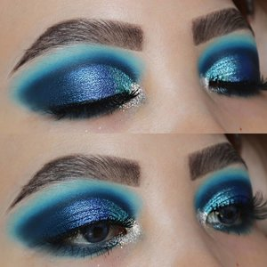 Comfort zone 💙💙SCROLL DOWN A BIT FOR TUTORIAL OF THIS LEWKK..Eyes deets@sigmabeauty Eyeshadow Base Primer - Ignite #sigmabeauty #sigmaprimetime@bhcosmetics take me back to brazil@morphebrushes dare to date Brushes :#bhcosmetics , Sigma Brushes , @masamishouko..#makeupfeed #unleashyourinnerartist #creativemakeup #eyelooks #makeuptutorial #makeuplooks #wakeupandmakeup #sigmabrush #clozetteid #slave2beauty #wake2slay #eyeshadowtutorial #amrezyshoutouts #muasfam #undiscovered_muas #inssta_makeup #makeupaddict #featuremuas #morphebabe #beautyunderyourinfluence