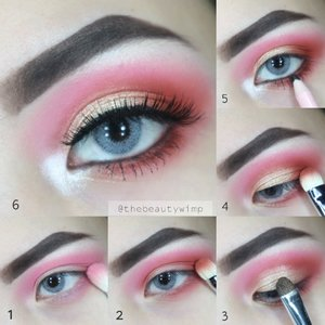 Red Grungy Smokey Eye . Deets : ▫@morphebrushes 12P only red shadow for transition shade (no.1) apply sampe lower lashline ▫@anastasiabeverlyhills Modern Renaisance in red ochre for crease (no.2) sama outter corner (no. 4) + primavera on the lid (no.3) ▫@kaycollection Dollywink eyeliner pencil on waterline (no.5) ▫@lashnatic Hyacinth . Hope u like it! And if u have eotd requests pls lemme know