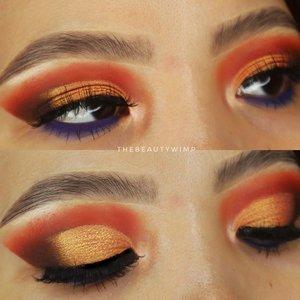 Still in sunset inspired eyelooks ☀️🌅    Lupa deets nya apa aja wkwk Kayaknya @colourpopcosmetics ini    #beautygoersid #instamakeup  #makeuptutorial  #beautyenthusiast  #100daymakeupchallenge #makeupfeed #unleashyourinnerartist #creativemakeup  #makeuptutorial @setterspace @tampilcantik  @cchanel_beauty_id @tips_kecantikan  @popbela_com  #makeuplooks #wakeupandmakeup #clozzeteid #sigmabrush #clozetteid #slave2beauty #wake2slay #eyeshadowtutorial  #amrezyshoutouts #undiscovered_muas #inssta_makeup #makeupaddict #featuremuas #morphebabe #beautyunderyourinfluencer