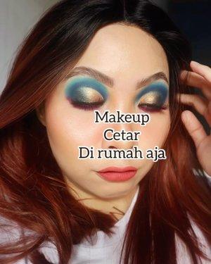 Jangan di slide nanti sawan!!  🐠🐟🐠  LACE FRONT WIG by @sissyclip  Makeup deets ------ Eyeshadow @colourpopcosmetics @morphebrushes @juviasplace  Eye Primer @sigmabeauty  Face Prime @beccacosmetics botol ungu  Foundation @selfcoding_official Korea Falsies @joellybeauty Banoffee Pie @joevictoria Lip matte @dearmebeauty Dear Rachel      #beautygoersid #instamakeup  #makeuptutorial  #beautyenthusiast  #100daymakeupchallenge #makeupfeed #unleashyourinnerartist #creativemakeup  #makeuptutorial @setterspace @tampilcantik  @cchanel_beauty_id @tips_kecantikan  @popbela_com  #makeuplooks #wakeupandmakeup #clozzeteid #sigmabrush #clozetteid #slave2beauty #wake2slay #eyeshadowtutorial  #amrezyshoutouts #undiscovered_muas #inssta_makeup #makeupaddict #featuremuas #morphebabe #beautyunderyourinfluencer