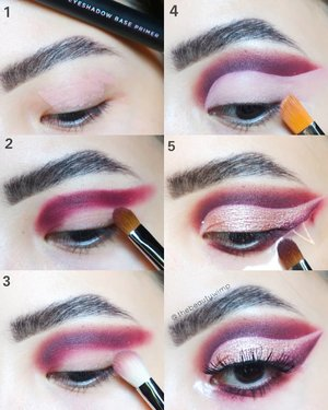𝗧𝗨𝗧𝗢𝗥𝗜𝗔𝗟 ♥️__________Sudah ikutan GIVEAWAY nya belum? (Check previous post)Ini pakai salah satu eyeshadow Ucanbe yang bakal jadi hadiah GA nanti 🙆Meanwhile enjoy the pic tutorial ✨Super blendable & not patchy 💯_________...#makeupfeed #unleashyourinnerartist #creativemakeup #eyelooks #makeuptutorial #makeuplooks #wakeupandmakeup #clozzeteid #sigmabrush #clozetteid #slave2beauty #wake2slay #eyeshadowtutorial #focallure #amrezyshoutouts #undiscovered_muas #inssta_makeup #makeupaddict #featuremuas #morphebabe #beautyunderyourinfluencer