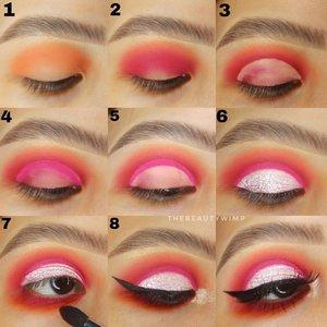 Double half cut crease 🔪   𝐒𝐭𝐞𝐩 𝐩𝐞𝐧𝐭𝐢𝐧𝐠  --------- •Step 3 : Cut the crease seperti biasa, ga perlu rapi2, fokus concealing bagian atas nya aja. Toh nanti jg bakal ditumpuk dgn warna pink di step 4. •Di step 4 itu make sure warna eyeshadow hrs pigmented dan build trs sampe dpt warna bold kayak pake eyeliner. •Step 5 di conceal lagi , untuk ditumpuk shimmer-y shade.   Deets EYEBROW @benefitcosmetics @benefitindonesia precisely my brow pencil EYESHADOW @juviasplace FALSIES @joellybeauty  EYELINER @makeoverid      #beautygoersid #instamakeup  #makeuptutorial  #beautyenthusiast  #100daymakeupchallenge #makeupfeed #unleashyourinnerartist #creativemakeup  #makeuptutorial @setterspace @tampilcantik  @cchanel_beauty_id @tips_kecantikan  @popbela_com  #makeuplooks #wakeupandmakeup #clozzeteid #sigmabrush #clozetteid #slave2beauty #wake2slay #eyeshadowtutorial  #amrezyshoutouts #undiscovered_muas #inssta_makeup #makeupaddict #featuremuas #morphebabe #beautyunderyourinfluencer