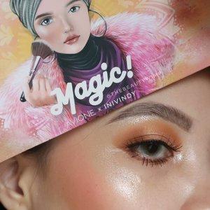 Beginner friendly tutorial using Magic Palette @avionebeauty x @inivindy Deets & tutorial will be up later today ♥️ . . . #fakeupfix #makeupforbarbies #beautygram #makeupblogger #eyeshadowtutorial #smokeyeyetutorial #peachyqueenblog #clozzeteid #bretmanvanity #eyeshadowswatch #beautygram#clozetteid #instamakeup #undiscovered_muas #smokeyeye  #wakeupandmakeup #fiercesociety  #hypnaughtymakeup #makeupinspiration  #sigmabeauty #flawlesssdolls #focallure #nyxcosmetics_indonesia .
