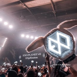 My first @weareone.exo concert💃. Know them since Growl era, thx to my college friend @immetika hehe. This year, 8th years of your anniversary. I wish everything best for 9 of you guys, please comeback soon. I'll be waitting for the grand comeback of EXO.We are One👍🏻, EXO 사랑하자 ❤..#EXO #LetsLoveEXO #8ternityWithEXO #To8finityAndBeyondWithEXO #clozetteid #explorationinjakarta #explorationjkt #exoconcert