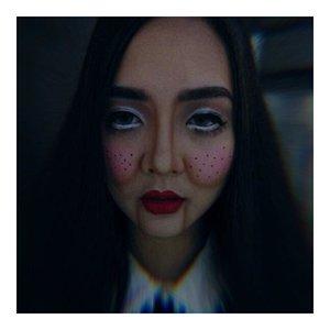 Come and play with me this halloween.. @astaririri the living doll.. 👩🏻 . . #nyxcosmetics #proexclusiveid #proexclusivewithrenetjandra #nyxcosmeticsid #bringouttheboo . . @indobeautygram  #indobeautygram #indobeautyvlogger #indobeautyinfluencer #instabeauty #femaledailynetwork #beautynesiamember #clozetteid #dailygirlsfeed #universomakeup #wakeupandmakeup #universodamaquiagem_oficial #undiscovered_muas #bretmansvanity #featured_my_makeup_art #makeuplover #makeupenthusiast #beautyenthusiast  #wakeupandmakeup #instamakeup #instadaily #halloweenmakeup #makeuphalloween #halloweenmakeupideas