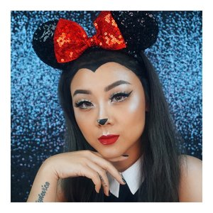 Remember You're The One Who can fill The World with Sunshine -Minnie Mouse- . . #halloween #halloweenmakeup #halloween2017 #disneymakeup #minniemouse #minniemousemakeup  @indobeautygram  #indobeautygram #indobeautyvlogger #indobeautyinfluencer #instabeauty #femaledailynetwork #beautynesiamember #clozetteid #dailygirlsfeed #universomakeup #wakeupandmakeup #universodamaquiagem_oficial #undiscovered_muas #bretmansvanity #featured_my_makeup_art #makeuplover #makeupenthusiast #beautyenthusiast  #wakeupandmakeup #instamakeup #instadaily