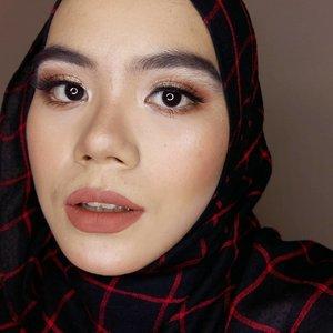Alis rapi kalo lagi ga mau kemana2 itu masih jadi misteri�  #hijab #hijabi #hijabstyle #makeup #makeuplook #makeuplooks #makeupinspiration #makeupideas #beautygram #beautybloggers #beautyblogger #instabeauty #Beautiesquad #clozette #clozetteid