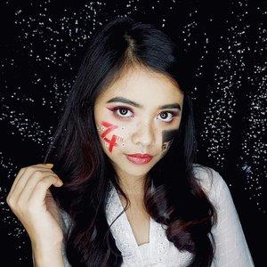 🇮🇩🇮🇩🇮🇩 #diFACEbeauty #makeupbydifa #gengbvlog ・・・ #Indonesia74 #RI74 #makeuphutRI #makeupkemerdekaan #makeupindependenceday #makeupmerahputih #makeupIndonesiaMerdeka #17Agustus @indobeautygram #indobeautygram #bvloggerid #indobeautysquad #beautyvlogger #beautybloggerindonesia #indomakeupsquad #setterspace #beautygoersid #beautychannelid #100daysmakeupchallenge #bunnyneedsmakeup #hypnaughtymakeup #wakeupandmakeup #makeuptutorialsx0x #xmakeuptutsx @tampilcantik #tampilcantik #clozetteid #clozette #clozettereview