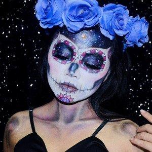 Creep it real 😈 #diFACEbeauty #makeupbydifa #gengbvlog #BringOutTheBoo #nyxcosmeticsid ・・・ #skullhead #skullmakeup #skeletonmakeup #skullheadmakeup #halloweenmakeup  #halloweenmakeupinspiration #halloweenmonth #spooktober @indobeautygram #indobeautygram #bvloggerid #indobeautysquad #beautyvlogger #beautybloggerindonesia #indomakeupsquad #setterspace #beautygoersid #beautychannelid #100daysmakeupchallenge #bunnyneedsmakeup #hypnaughtymakeup #wakeupandmakeup #makeuptutorialsx0x #xmakeuptutsx #clozetteid #clozette