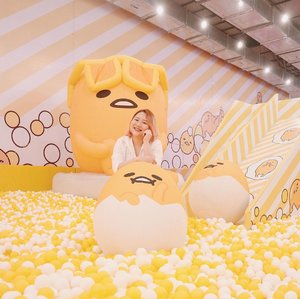 Having soo muchh fun!At @gudetama Ball Pool @mallofindonesia 💖💖#BodyPlusIcel #mallofindonesia #indobeautysquad