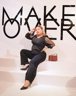 Hari ini aku main ke @makeoverid Fab Week bareng @indobeautysquad ✨ Kalian juga bisa mampir kesini sampe tgl 1 Des 💖 #Makeover #MakeOverFABWeek #ColorsUncensored