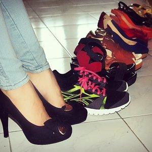 Love to wear many kinda shoes,yea cz im a #shoeslover #COTW #clozetteid